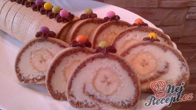 Roláda z dortových oplatek