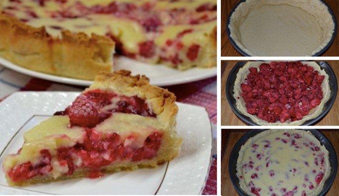 Křehký malinový dort – FOTOPOSTUP