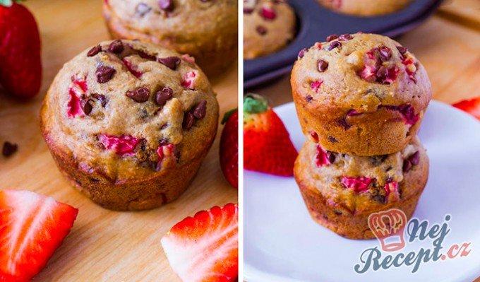 Luxusní muffinky, téměř bez tuku