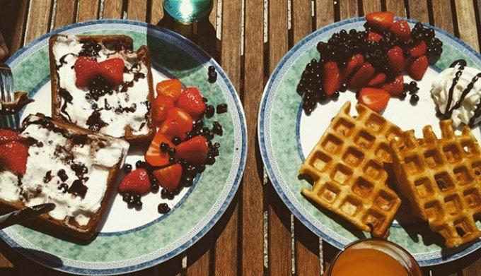 Lehké a křupavé wafle