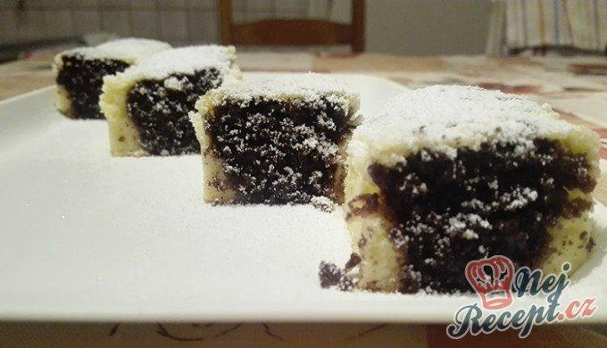 Tvarohový koláč s kakaovými kuličkami