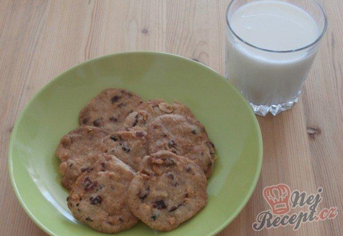 Hrníčkové brusinkové sušenky