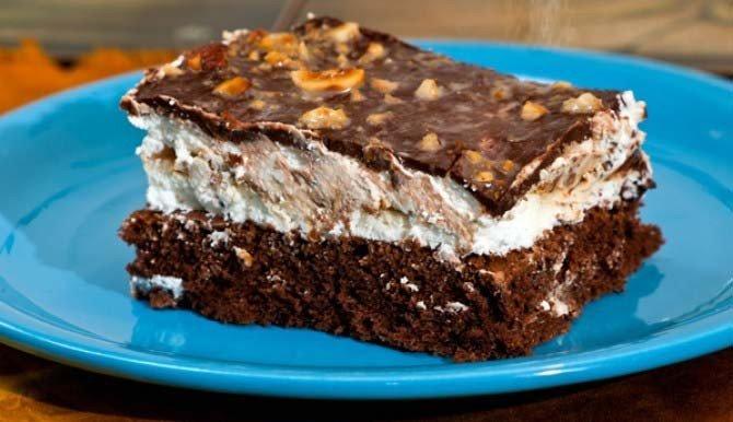 Tvarohový GURU koláč