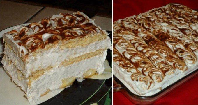 Super rychlý dort bez pečení